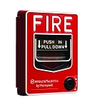 Fire-Lite BG12LAO Dual Action Pull w/Key Lock, Aux. Contact