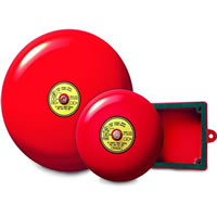 Gentex GB6-120, 120VAC 6-in Fire Alarm Bell, 85 dBA at 10 feet