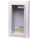 Kidde KN KF9731C, Fire Extinguisher Wall Cabinet, 5 lb. Semi Recessed