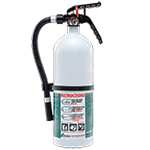 Kidde KN FX210R-MTL, Living Area Fire Extinguisher, 2-A, 10-B:C, 4 lbs., White