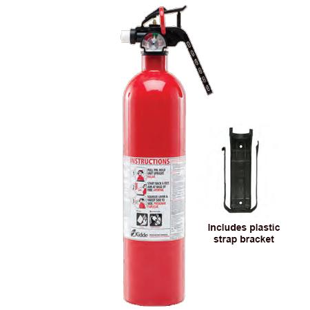 Kidde KN KGPlus-MTL, Kitchen/Garage Fire Extinguisher, 10-B:C, 2.9 lbs., Red