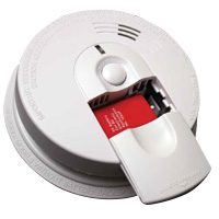 Kidde KN i4618, 120V AC/DC Smoke Alarm, Slide Load w/9V Battery, 5 Year Warranty