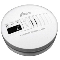 Kidde KN COP-iC, Carbon Monoxide Alarm, AC/DC wire-in - Digital Display - Interconnect