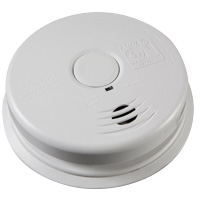 Kidde KN i12010S, AC/DC Wire-In Ionization Smoke Alarm,Ten Year Sealed Lithium Battery Backup
