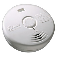 Kidde KN P3010H, DC Photo Smoke Alarm, Safety Light, Ten Year Sealed Lithium Battery