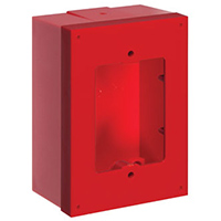 Red Back Box & Spacer Kit for Stopper Stations