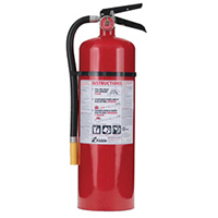 Kidde KN Pro460, Fire Extinguisher, 4-A, 60-B:C, 10 lbs., Wall Hook, Rechargeable