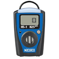 Macurco HS-1, Portable Hydrogen Sulfide (H2S) Monitor