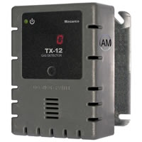Macurco TX-12-AM, 100-240VAC Ammonia Detector, Controller and Transducer