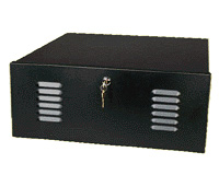 Mier BW-200 DVR/VCR Lock-box with Fan, 20x8x20