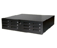 Mier BW-225 DVR/VCR Lock-box with Fan, 20x5x20