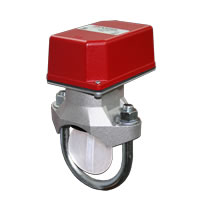Potter VSR-2.5, Vane-Type Waterflow Switch for 2.5-inch Steel Pipe, with Retard, SPDT Contact(s)