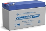 Power-Sonic 12V/7 AH Sealed Lead Acid (SLA) Battery