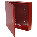 Space Age Electronics SSU00656 AC2 Accessory Cabinet Enclos., 14-in X 14-in X 3 1/4-in, Red