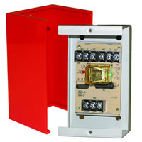Space Age SSU MR-401/C/R, Multi-Voltage Series Relay with Test Button, 7-10A, DPDT, 1 Position
