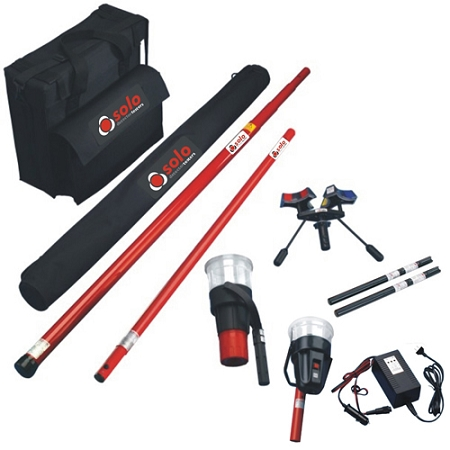 Sdi Solo 851 Kit Smoke Detector Test Kit W Bag Amp Heat Tester