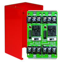 Space Age SSU MR-602/C/R, Multi-Voltage Series Relay w/Manual Override, 7-10A, SPDT, 2 Position
