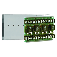 Space Age SSU MR-604/C, Multi-Voltage Series Relay w/Manual Override, 7-10A, SPDT, 4 Position