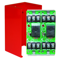 Space Age SSU MR-702/C/R, Multi-Purpose Series Relay, 10A, SPDT, 2 Position, Red Enclosure