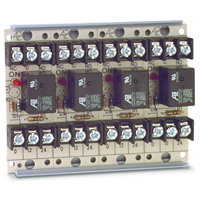 Space Age SSU MR-704/T, Multi-Purpose Series Relay, 10A, SPDT, 4 Position, Track-Mount