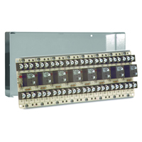 Space Age SSU MR-708/C, Multi-Purpose Series Relay, 10A, SPDT, 8 Position, Grey Enclosure
