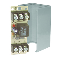Space Age SSU MR-801/C, Multi-Voltage Series Relay, 10A, SPDT, 1 Position, Grey Enclosure