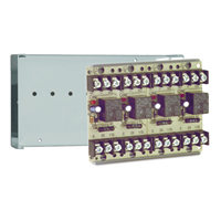 Space Age SSU MR-804/C, Multi-Voltage Series Relay, 10A, SPDT, 4 Position, Grey Enclosure