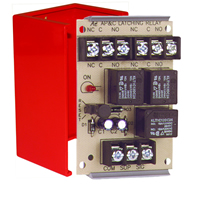 Space Age SSU MR-901/C/R, Latching Relay with Manual or Electric Reset, 10A, DPDT, 1 Position