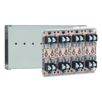 Space Age SSU SC-114/C, Dual-Circuit Fuse Module, 10A, 4-Position, Grey Enclosure