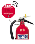 STI 6200WIR4, Wireless Fire Extinguisher Theft Stopper and 4-Channel Receiver
