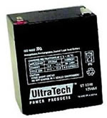 UltraTech 12V, 4.5 AH SLA Battery