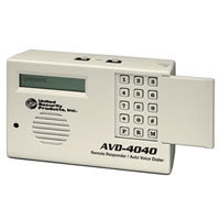 USP AVD-4040, 4 Channel 8 Number Voice Dialer with Remote Arm/Disarm