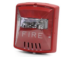 Cooper Wheelock E90-24MCC-FW E90-24MCC Ceiling Mount Fire ... |Wheelock Fire Alarm Horn Strobe