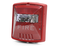 Wheelock Exceder 24VDC Strobe, Model STR, Wall-Mount, Red