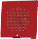 Wheelock CH70 Square Chime 24VDC, Wall or Ceiling Mount, Red