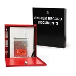 Space Age SSU01689 SRD, System Record Documents Box w/USB Micro & USB-C, Black
