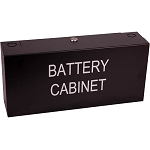 Space Age Electronics SSU00506, MBC Mini Battery Cabinet Black