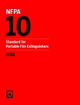NFPA 10 Standard For Portable Fire Extinguishers, 2018 Edition