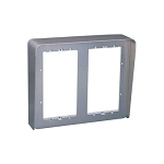 Urmet 1148/324 Housing with hood and wall frame