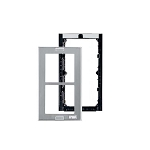 Urmet 1148/62 Module holder with frame for 2 modules