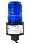 Tomar Outdoor Beacon, 120 VAC, Blue, 1/2 inch Female Pipe Mount