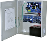 Altronix AL1012ULXPD16 Power Supply Charger, 16 Fused Outputs, 12VDC @ 10A, 115VAC, BC400 Enclosure