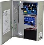 Altronix AL1012ULXPD4 Power Supply Charger, 4 Fused Outputs, 12VDC @ 10A, 115VAC, BC400 Enclosure