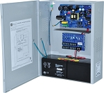 Altronix AL1012ULXPD8CB Power Supply Charger, 8 PTC Class 2 Outputs, 12VDC @ 10A, 115VAC, BC400 Enclosure