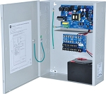 Altronix AL1012ULXPD8 Power Supply Charger, 8 Fused Outputs, 12VDC @ 10A, 115VAC, BC400 Enclosure