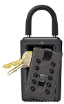 Kidde 001352 KeySafe Original Portable Push, Black