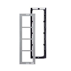 Urmet 1148/64 Module holder with frame for 4 modules