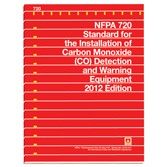 NFPA 720: Standard for the installation of CO detection & warning equipment
