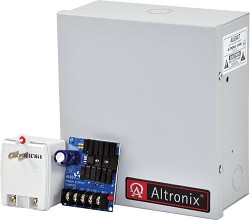 Altronix Linear Power Supply Charger, Single Class 2 Output, 12VDC @ 1.2A, 115VAC, BC100, Enclosure, includes TP1620