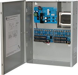 Altronix CCTV Power Supply, 16 Fused Outputs, (8 @ 12VDC and 8 @ 24VAC) @ 7A, 115VAC, BC400 Enclosure